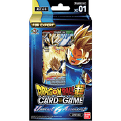 Dragon Ball Super TCG XD01 Universe 6 Assailants Expert Deck
