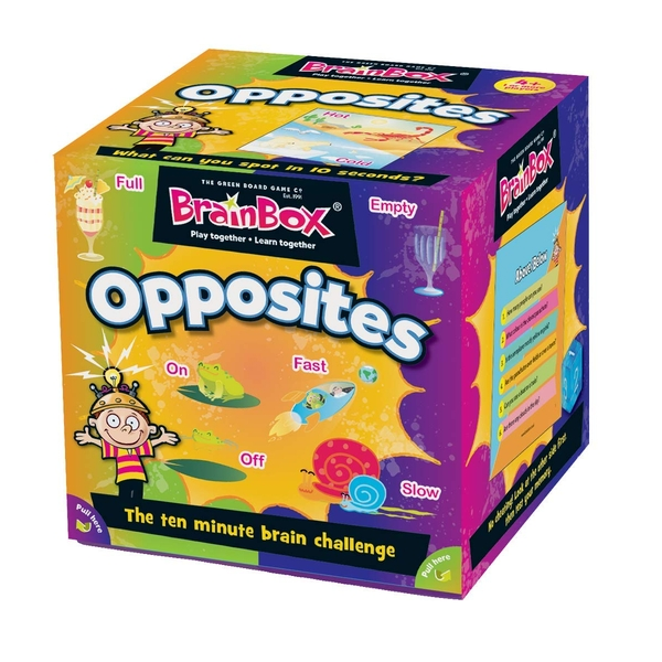 BrainBox Opposites Card Game