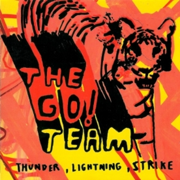 Go! Team - Thunder Lightning Strike CD