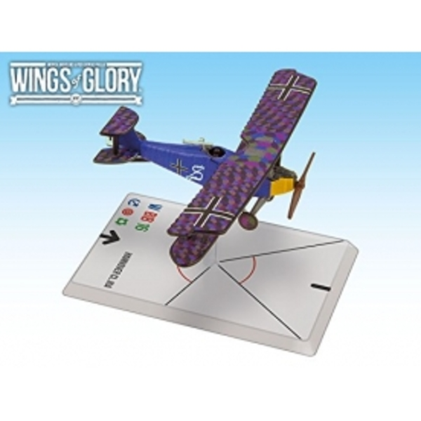 Wings Of Glory Hannover CL.IIIA (Luftstreitkrafte) Board Game