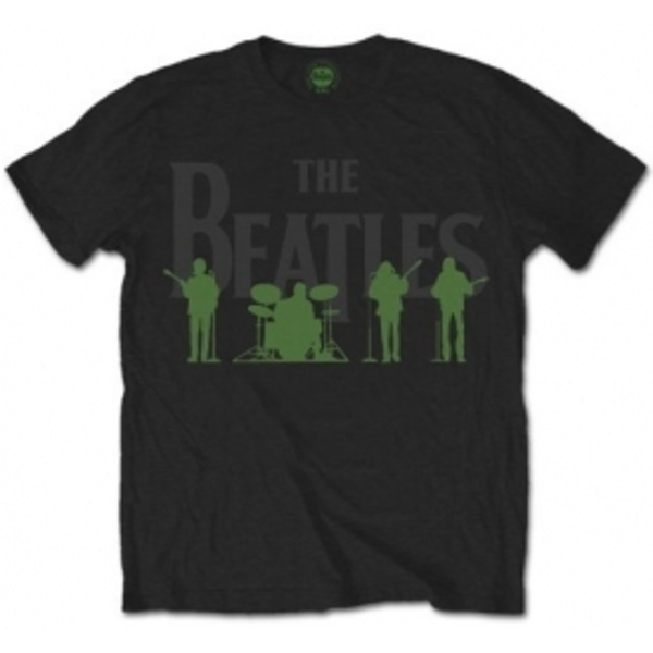 The Beatles Saville Row Line Up (Green Silhouettes): Large