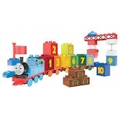 Mega Bloks Count with Thomas 1-2-3 Learning Train