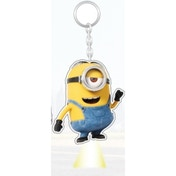 Minions Movie Banana Scented Light Up Stuart Key Chain