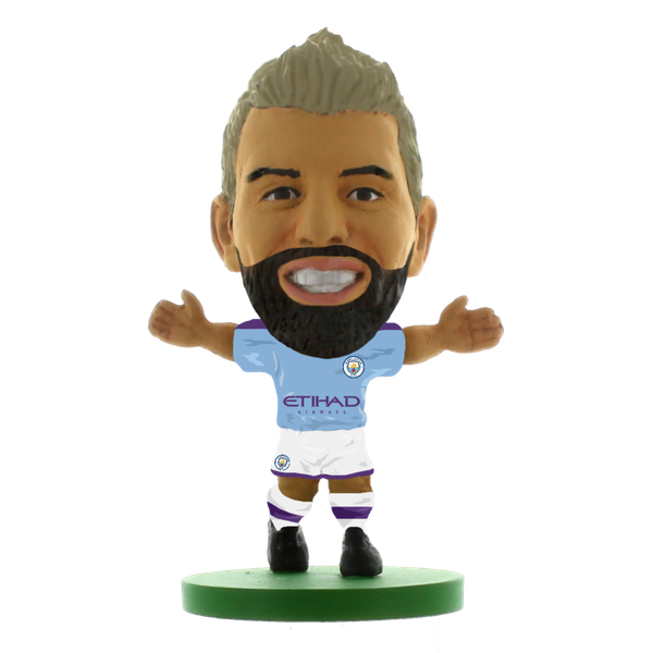 Soccerstarz Sergio Aguero Man City Home Kit 2020 Figure