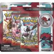 Pokemon Zoroark Triple Pack TCG With Pins