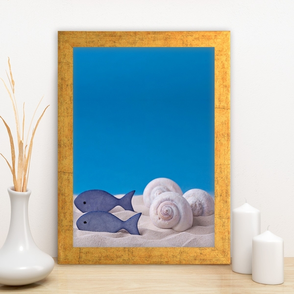 AC1935127792 Multicolor Decorative Framed MDF Painting