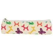 Balloon Animals Design Novelty Pencil Case