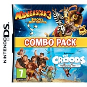 Madagascar 3 & The Croods Double Pack Game DS