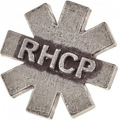Red Hot Chilli Peppers: RHCP Logo Asterisk Metal Pin Badge