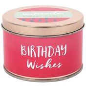 Birthday Candle Tin