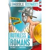 Ruthless Romans by Terry Deary (Paperback, 2016)