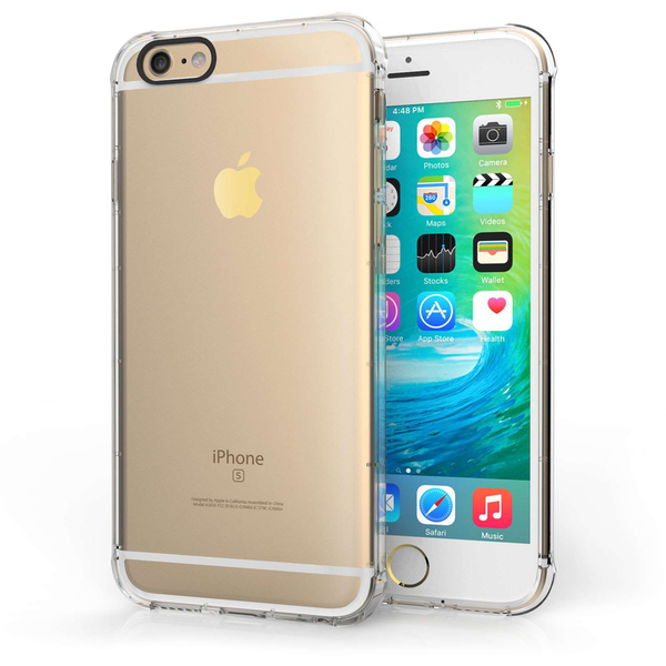 Compare prices with Phone Retailers Comaprison to buy a Apple iPhone 6/6S Clear Gel Case with Black Camera Hole