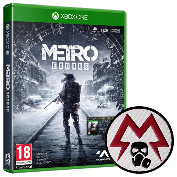 Metro Exodus Xbox One Game + Patch - ozgameshop com
