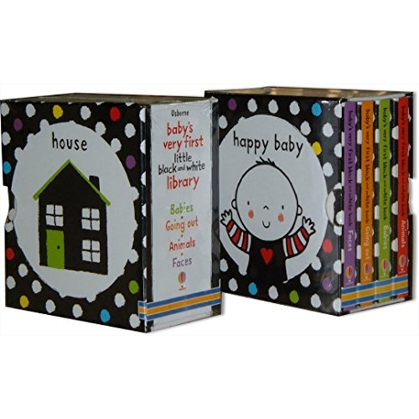 Baby's Very First Black and White Little Library Box Set by Usborne Publishing Ltd (Board book, 2011)