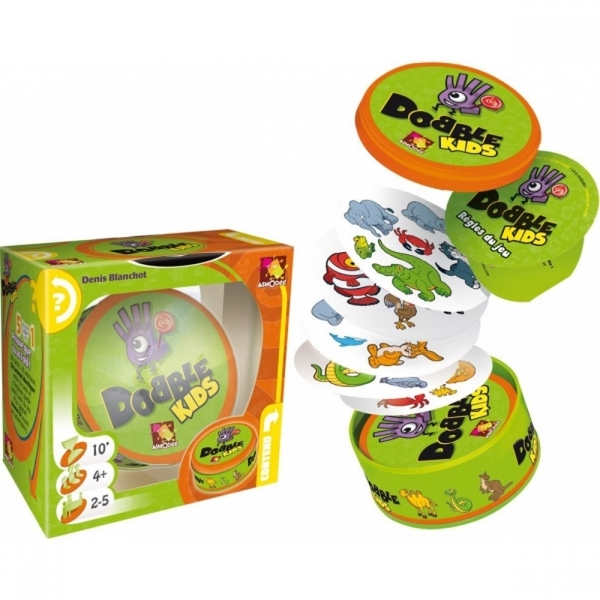 Ex-Display Dobble Kids Card Game Used - Like New - Image 1
