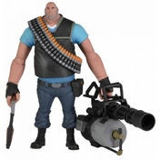 Team Fortress 7 inch Ultra Deluxe Figure Series 2 Heavy Blue