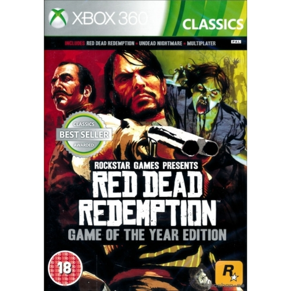 Red Dead Redemption Game Of The Year Edition (GOTY) Xbox 360 (Classics)