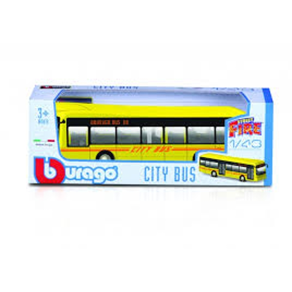 1:43 Street Fire City Bus Diecast Model