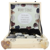 Box of 36 Heart Worry Stones