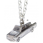Sterling Silver Mr Weasleys Ford Anglia Flying Car Charm Necklace