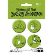 Return Of The Bunny Suicides 4 Badge Pack