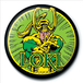 Marvel Retro - Loki Badge - Image 2