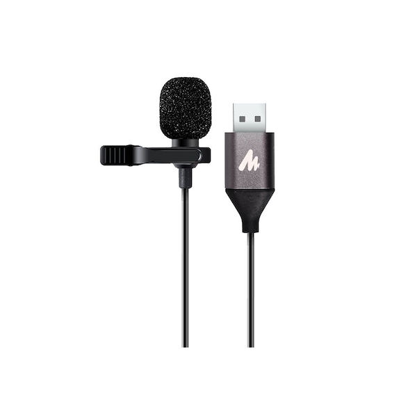 Image of Maono Lavalier Tie-Clip On Lapel Microphone Omnidirectional USB Electret Condenser