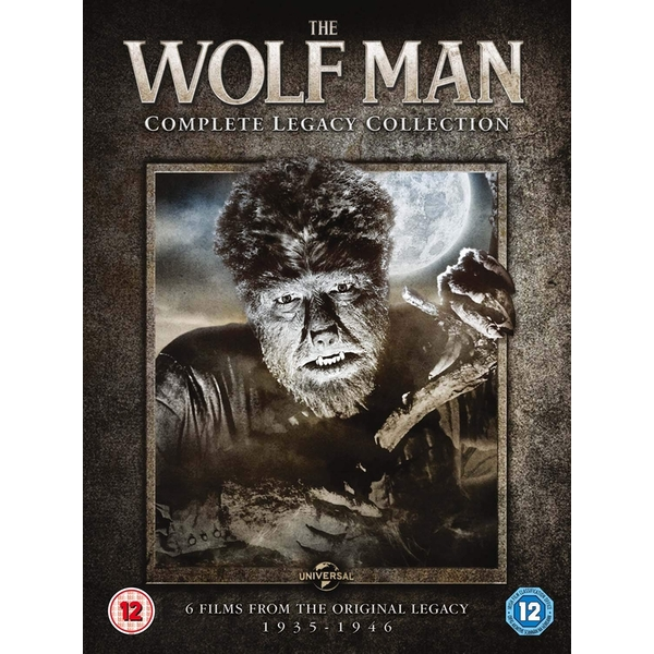 The Wolf Man Complete Legacy Collection (6 Films) DVD