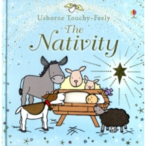 Touchy-feely Nativity by Fiona Watt (Board book, 2008)
