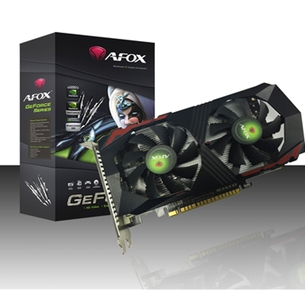 AFOX GeForce GTX1050 2GB 128bit GDDR5 PCI-E Graphics Card - Image 1