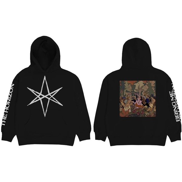 Bring Me The Horizon - Hex PHSH Cover Unisex Small Hoodie - Black