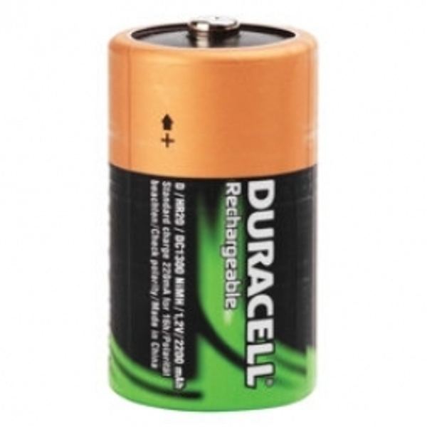 Duracell Rechargeable D Size 2 Pack Batteries - Image 2