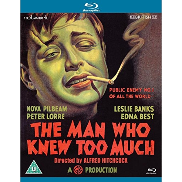 The Man Who Knew Too Much Blu-ray