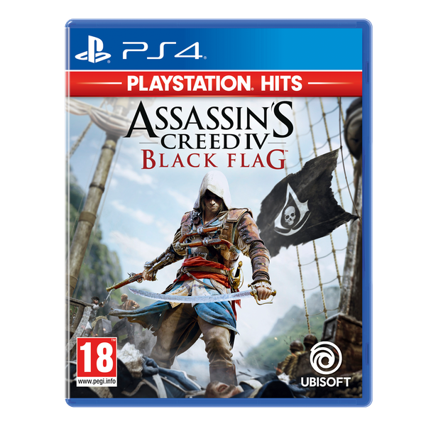 Assassin's Creed IV 4 Black Flag PS4 Game (PlayStation Hits)