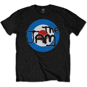 The Jam - Spray Target Logo Men's Large T-Shirt - Black