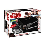 Kylo Ren's TIE Fighter (Star Wars) 1:70 Scale Level 1 Revell Build & Play