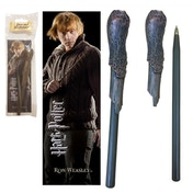 Harry Potter - Ron Weasley Wand Pen And Bookmark Set