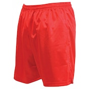 Precision Micro-stripe Football Shorts 22-24 inch Red