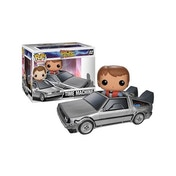 Marty McFly with Delorean Time Machine (Back to the Future) Funko Pop! Vinyl Figure