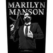 Marilyn Manson - Machine Gun Back Patch