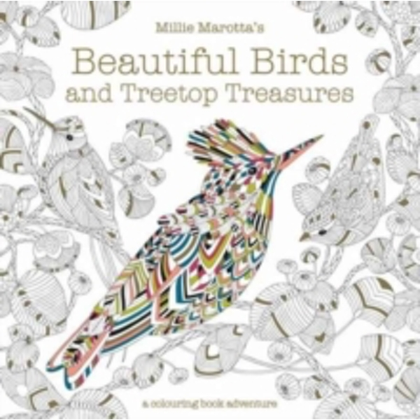 Millie Marotta's Beautiful Birds and Treetop Treasures : A colouring book adventure : 10