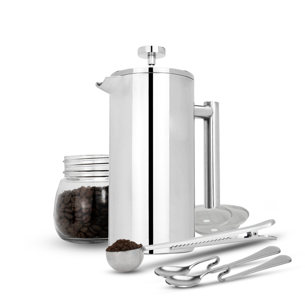 French Press Cafetiere Set M&W 350ml