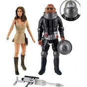 Doctor Who Invasion Of Time Leela & Commander Figurine Set
