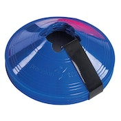 Precision Sleeved Set of 10 Saucer Cones - Blue