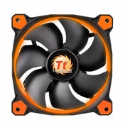 Thermaltake Riing 12 LED Case Fan Black/Orange