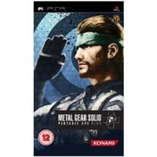 Metal Gear Solid Portable Ops Plus Game PSP