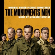 Alexandre Desplat - The Monuments Men Soundtrack CD
