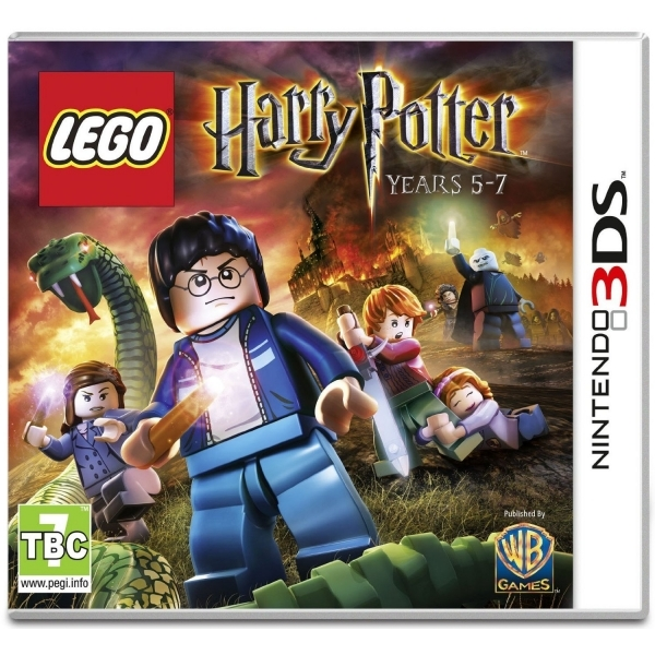Lego Harry Potter Years 5-7 Game 3DS - Image 1