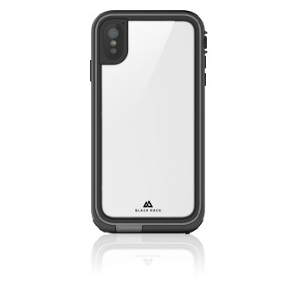 "Black Rock""360° Hero"" Protective Case for Apple iPhone Xs Max/Perfect Protection/Slim Design/Plastic / 360° Cover/Black"