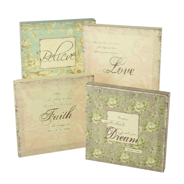 Dream Faith Believe Fabric Pictures (One Random Supplied) by Heaven Sends